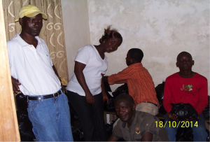 Pastor Moses Dahn and others from the FPMCOL.